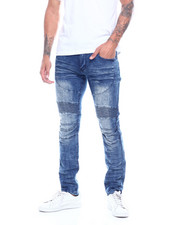 Jeans & Pants - CUT AND SEW STRETCH JEAN-2314111