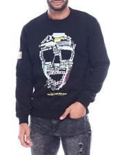 Buyers Picks - Letter Skull Crewneck Sweatshirt-2314640
