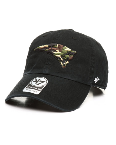 '47 - Camo Fill New England Patriots 47 Clean Up Hat