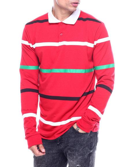 American Stitch - Ls Rugby Stripe Shirt