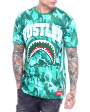 Hudson NYC - Camo Shark Mouth Shirt-2315026