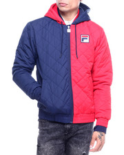 Fila - SAWYER QUILTED JACKET-2315217