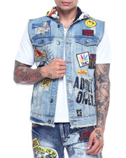 High Times - Sins of Angels Denim Vest-2315398