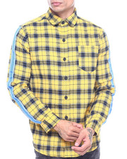 American Stitch - LS Plaid Buttondown shirt-2315340