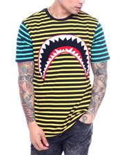 Hudson NYC - Mixed Stripe Shark Mouth Shirt-2315312