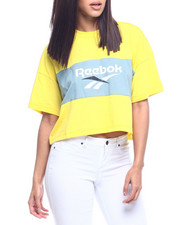 Tops - Cl V P Cropped Tee-2315481