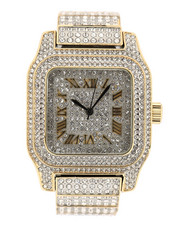 Accessories - Bust Down Watch - Two Tone-2311051