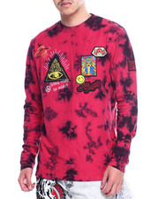 High Times - Tie Dye Multi Patch Crewneck Sweatshirt-2315919