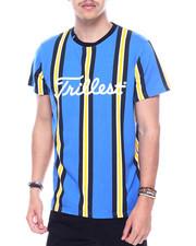 Shirts - TRILLEST TAPE STRIPE TEE-2315858