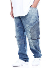Jeans - Side Moto w/ Zip Jean (B&T)-2314314
