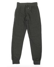 Boys - Basic Solid Fleece Joggers (8-20)-2316066