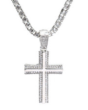 Accessories - Cross Chain Necklace-2316170