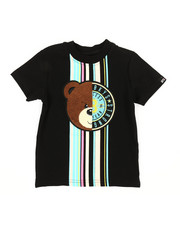 Arcade Styles - Tee W/ Stripes & Chenille Patch (2T-4T)-2314122