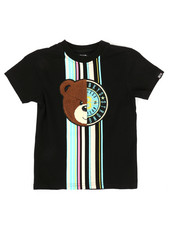 Boys - Tee W/ Stripes & Chenille Patch (4-7)-2314162