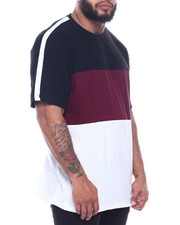 Men - Color Block Crew Neck W/ Active Stripe (B&T)-2316025