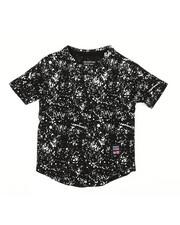 Boys - Printed Splash Crew Neck Tee (2T-4T)-2313217