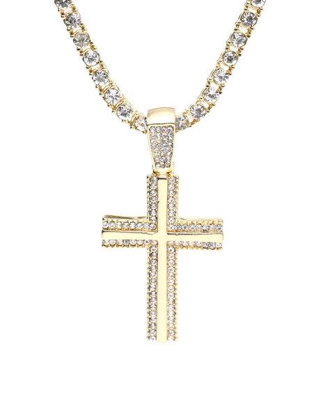Buyers Picks - Cross Chain Necklace