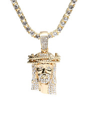 Accessories - Jesus Piece Chain Necklace-2316171