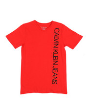 Boys - V-Neck T-Shirt (8-20)-2313176