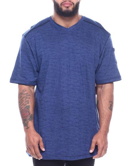 Buyers Picks - All Over Print V-neck W/ Sleeve Pocket (B&T)
