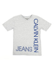 Boys - V-Neck T-Shirt (8-20)-2313197