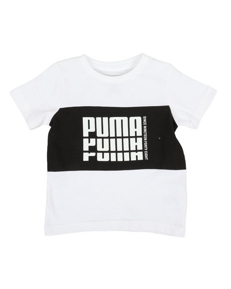 Puma - Color Block Pieced Tee (2T-4T)