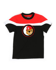 Boys - Color Block Tee W/ Chenille Patch (4-7)-2314102