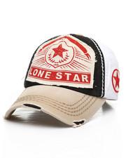 Dad Hats - Lone Star Vintage Distressed Dad Hat-2311607