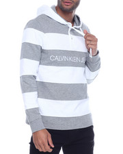Hoodies - COTTON RUGBY Stripe Hoody-2316710