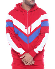 Hoodies - COLORBLOCK TECH FLEECE HOODY-2316833