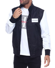 Calvin Klein - color block varsity jacket-2316745