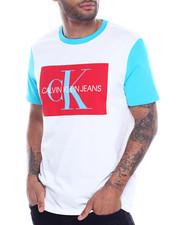 Calvin Klein - colorblock logo box tee-2316664