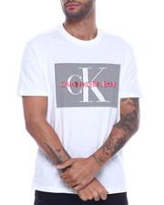 Calvin Klein - gradient stripe box logo tee-2316599