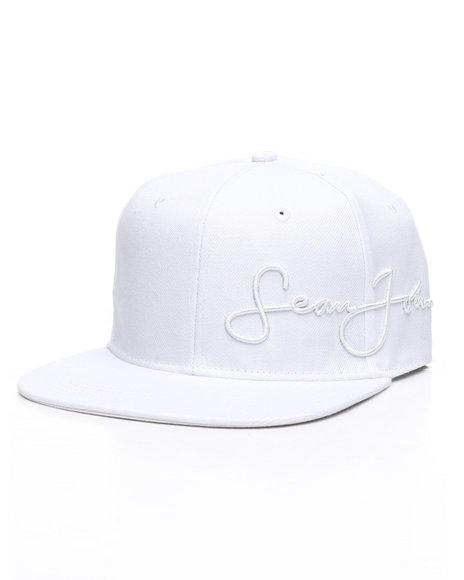 Sean John - Core Script Embroidered Logo Snapback Hat