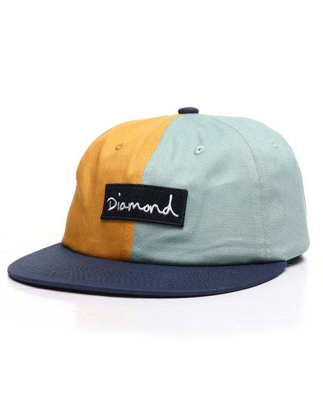 Diamond Supply Co - Split Script 2 Pan Strapback Hat