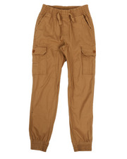 Bottoms - Stretch Ripstop Cargo Joggers (8-20)-2314925