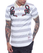 Short-Sleeve - SERPENT STRIPED POLO-2317922