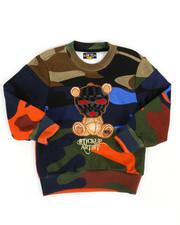 Sweatshirts & Sweaters - Sweatshirt W/ Embroidery Patch (2T-4T)-2313769