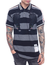 Short-Sleeve - STRIPED PANTHER POLO-2317932