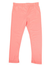 Girls - Solid Capri Leggings (4-6X)-2314938