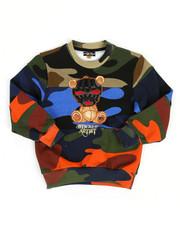 Sweatshirts & Sweaters - Camo Print Sweatshirt W/ Embroidery Patch (4-7)-2313772