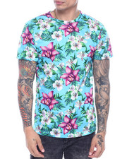 T-Shirts - CROSSHATCH FLORAL TEE-2317998