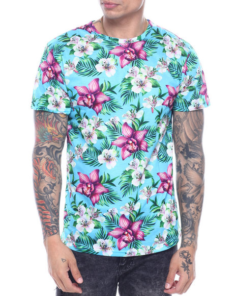 Buyers Picks - CROSSHATCH FLORAL TEE