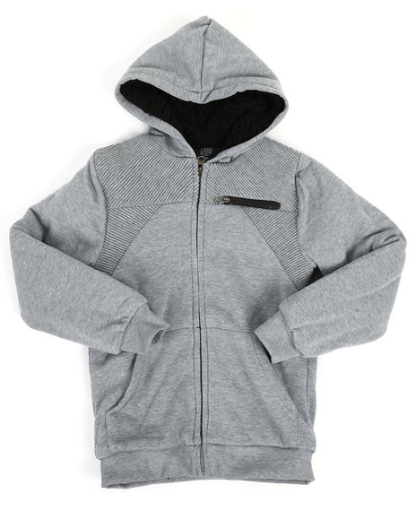 NOTHIN' BUT NET - Sherpa Lined Fleece Jacket (8-20)