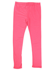 Girls - Solid Capri Leggings (7-16)-2314959