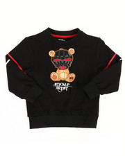 Pullover Sweatshirts - Sweatshirt W/ Embroidery Patch (4-7)-2313780