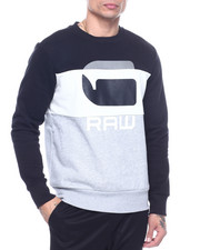 Sweatshirts & Sweaters - Colorblock G Raw Sweatshirt-2317246