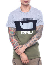 Athleisure for Men - Colorblock G Raw Tee-2317131