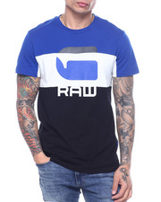 Athleisure for Men - Colorblock G Raw Tee-2317121