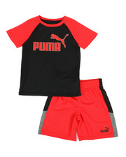 Puma - Performance Tee & Shorts Set (4-7)-2313151